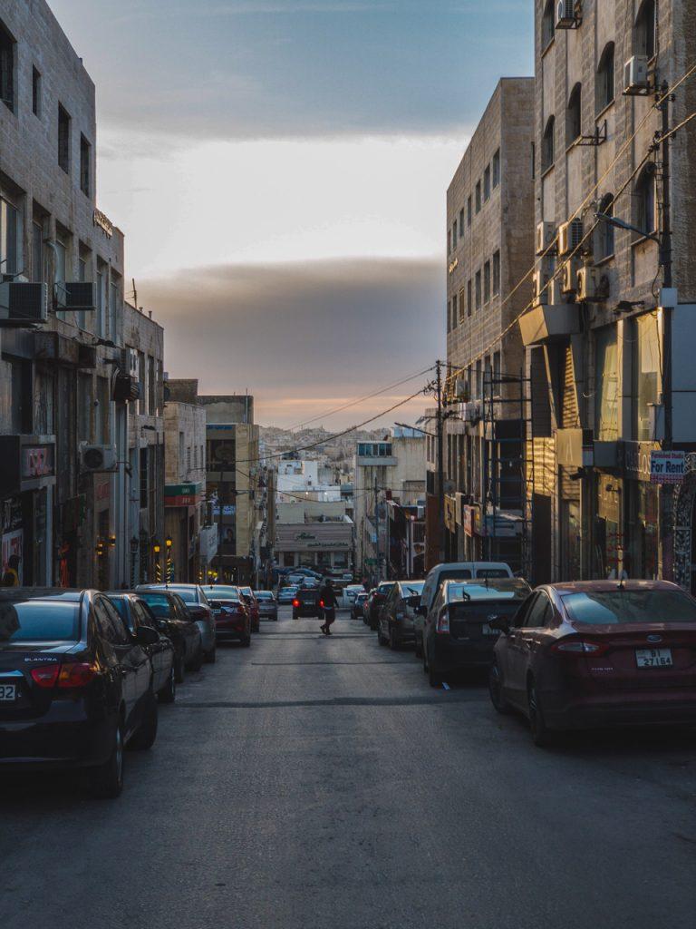 Gassen von Amman