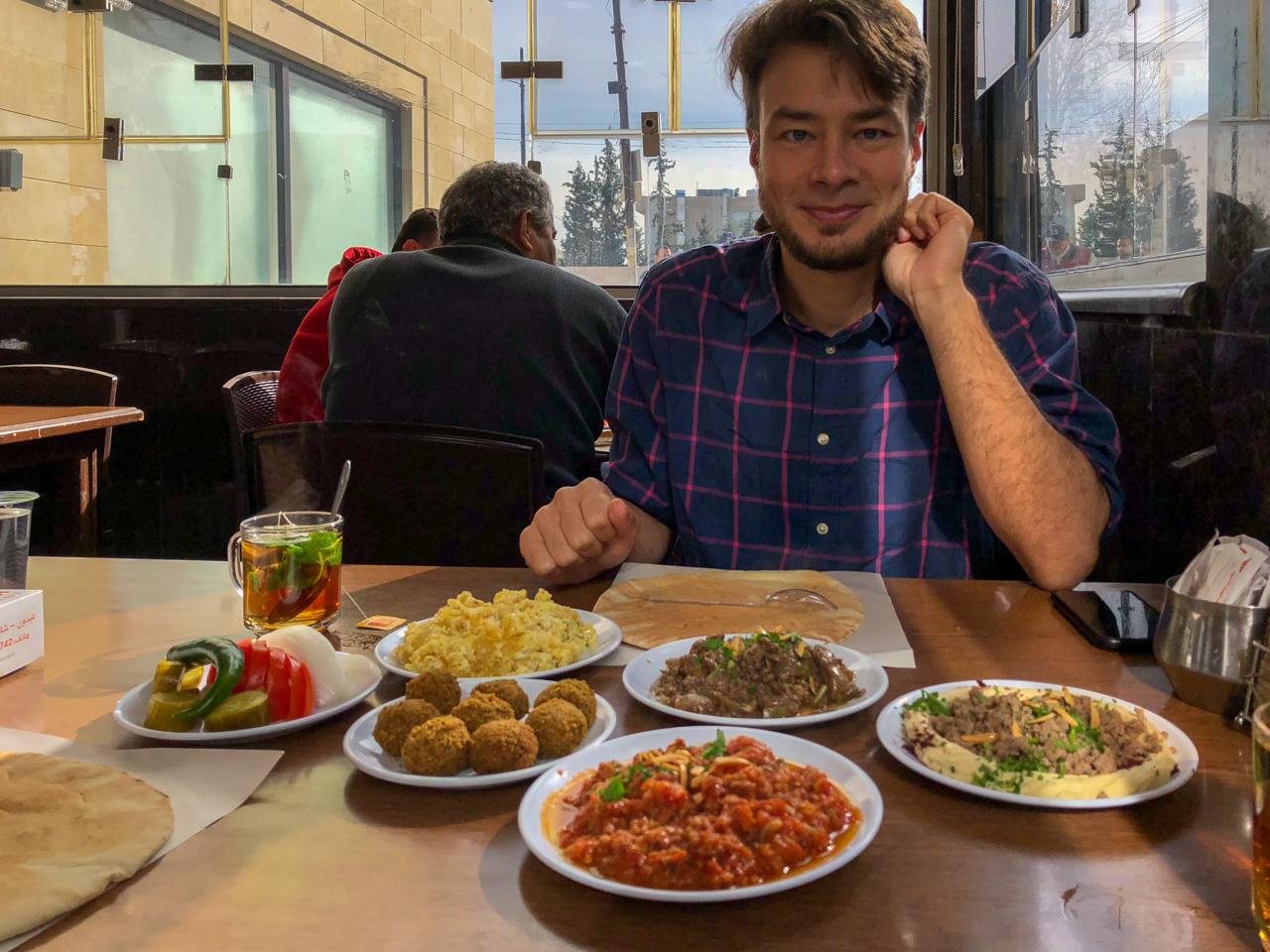 Jordanisches Frühstück